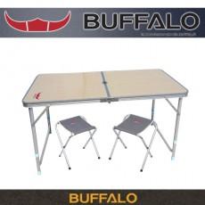 버팔로 아파치 2폴딩 캠핑 테이블 3종세트 (높이조절가능)